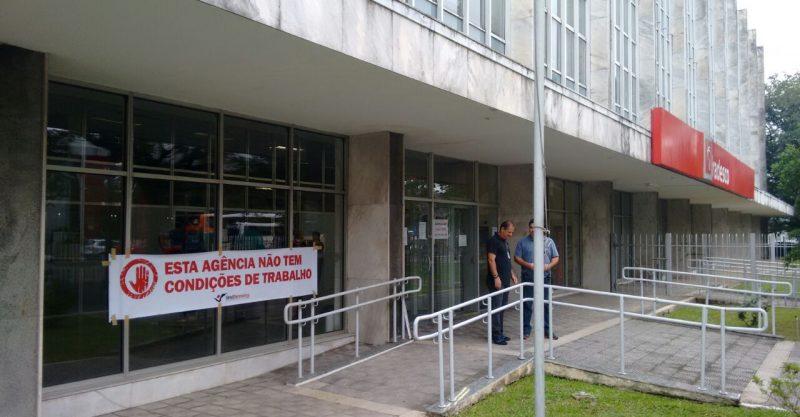 Intervenção do Sindicato garante instalação de ar condicionado em agência do Bradesco