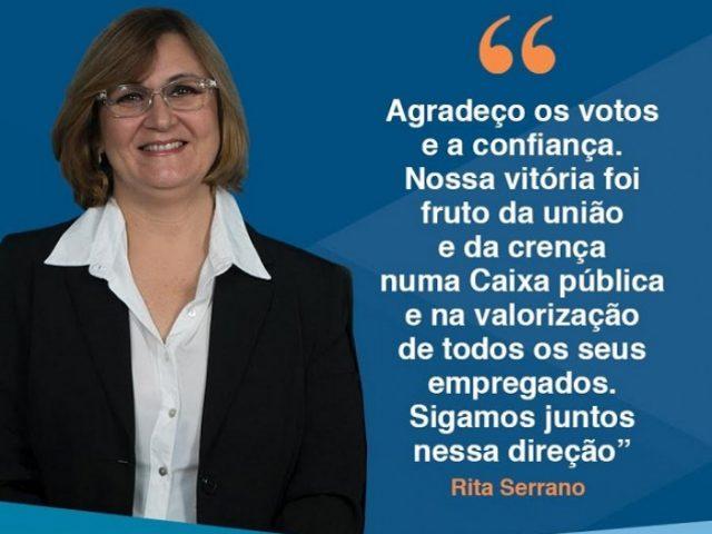 Chapa 1 vence e Rita Serrano é a nova representante dos empregados ...