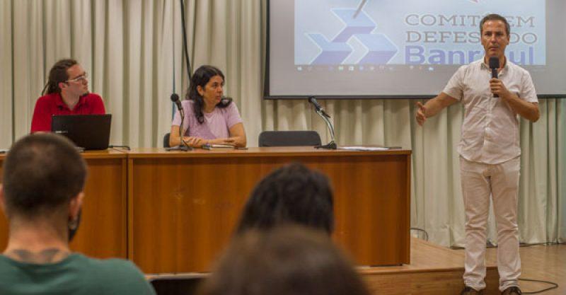 Plenária dos Banrisulenses denuncia plano B do governo Sartori para aumentar dívida do Estado e privatizar Banrisul por meio da federalização