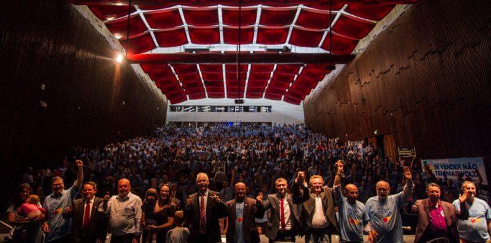 Frente Parlamentar em Defesa do Banrisul Público completa um ano de luta e resistência contra entrega da joia da coroa dos gaúchos