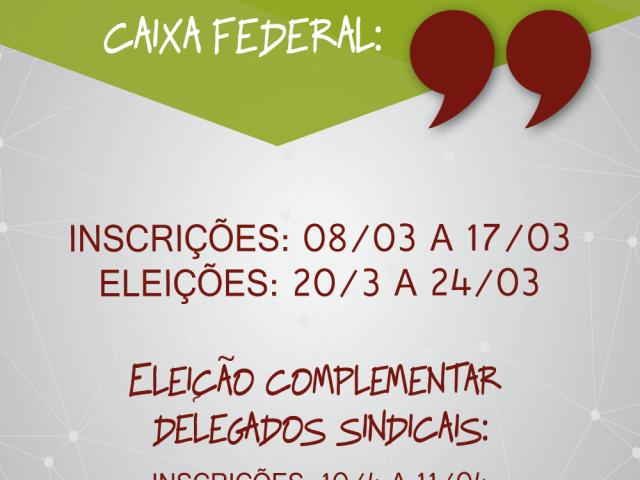 Aberto prazo para inscrições e eleição de delegados(...
