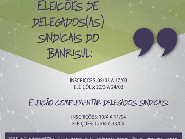Aberto prazo para inscrições e eleição para delegados(...