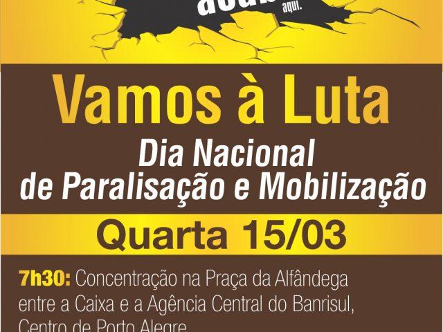 Bancários se mobilizam para participar do Dia Nacional de ...