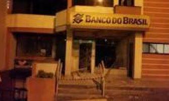 Criminosos arrombam agências do BB e Banrisul em Vila Nova do Sul na madrugada desta sexta