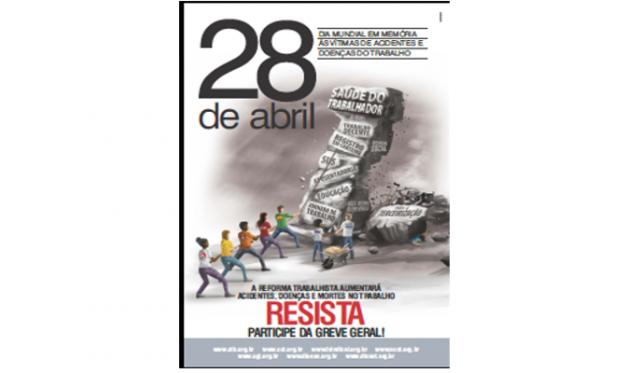 Trabalhadores celebram Dia Mundial em Memória das Vítimas ...