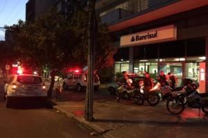 BM impede roubos a caixas eletrônicos do Santander, Banrisul ...