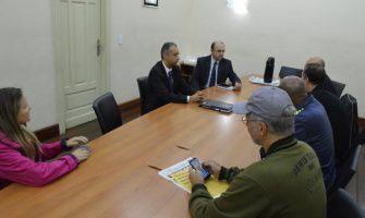 Dirigentes do SindBancários reforçam importância do diálogo e defesa da Caixa 100% pública em conversa com novo superintendente regional
