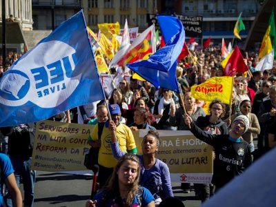 """CUT prepara """"Ocupa Brasília"""" e nova greve geral para barrar reformas da Previdência e trabalhista de Temer"""