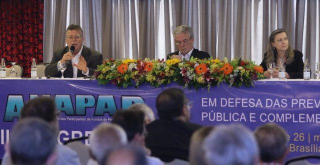 Congresso da Anapar debate conjuntura e previdência pública ...