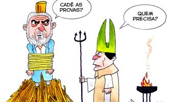 Curitiba: Lula vai ao teatro inquisitorial de Sérgio Moro