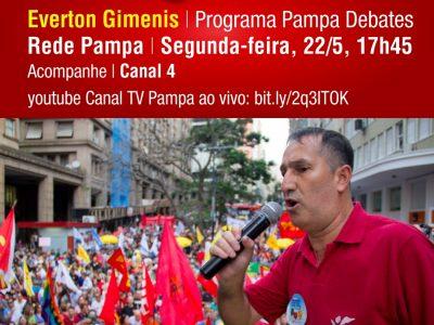 Presidente do SindBancários participa de programa Pampa Debates nesta segunda-feira, 22/5