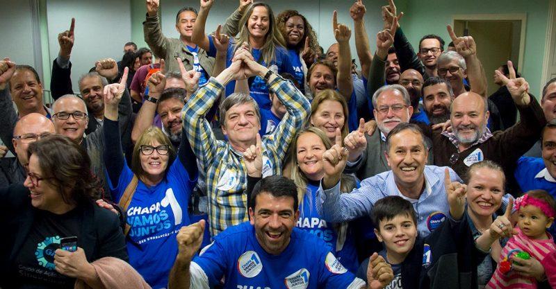 Chapa 1 – Vamos Juntos vence eleição do SindBancários para o triênio 2017-2020