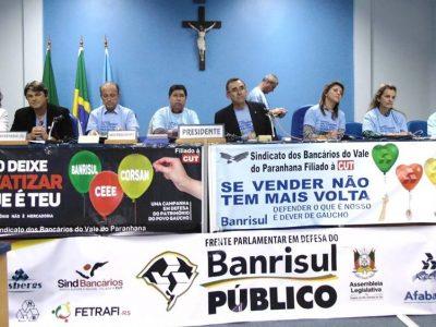 Audiência pública regional em Taquara reforça defesa do Banrisul Público