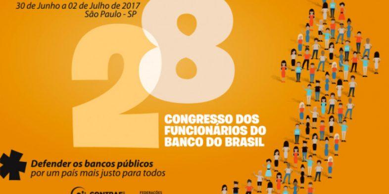 28º CNFBB acontece entre 30 de junho a 2 de julho e debate as estratégias contra o desmonte