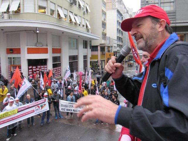"""""""A Previdência não é problema"""", afirma presidente da CUT-RS"""