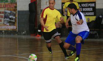 Times do Itaú lideram nas duas chaves da Copa SindBancários de Futsal 2017 após vencerem na segunda rodada