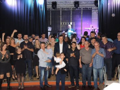 Diretoria toma posse em Baile histórico que celebrou o dia dos Bancários, que se comemora nesta segunda, 28 de agosto
