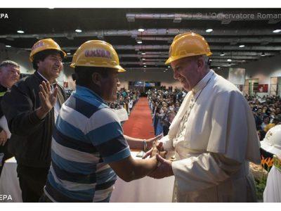 Papa Francisco defende sindicalismo forte como elemento de equilíbrio entre capital e trabalho
