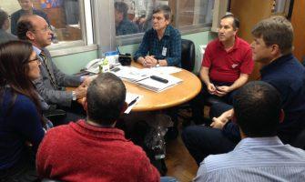 Deputados debatem com Sindicato a criação de uma Frente Parlamentar em Defesa do Badesul e BRDE Públicos
