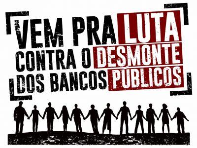 Calendário de ações contra as reformas de Temer começa com chamado a Banrisulenses a vestirem preto em 3/11, contra a venda de ações