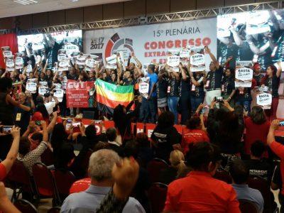 Congresso Extraordinário da CUT aprova calendário de mobilizações contra reformas e privatizações de Temer