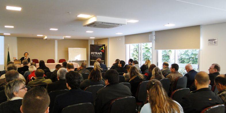 Fetrafi-RS e sindicatos debatem efeitos nocivos da Reforma Trabalhista