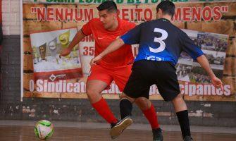 Itaú 2.0 e Bradesco FC assumem liderança das duas chaves após vitórias na terceira rodada da Copa SindBancários de Futsal 2017