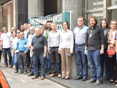 SindBancários protocola pauta de reivindicações específica à diretoria do BRDE e pede abertura de negociações