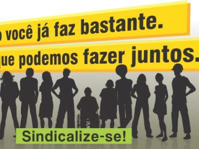 CUT-RS disponibiliza materiais da campanha de valorização dos sindicatos