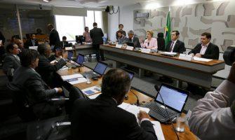 Bancários debatem Estatuto da Segurança Privada com senadores em Brasília