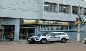 Agência do Banco do Brasil em Tapes foi assaltada no dia 10 deste mês