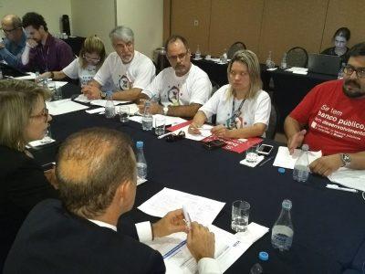 Reunião da CEE/Caixa com diretores do banco, em Brasília, trouxe avanços e proposta para discussão no dia 31 de outubro