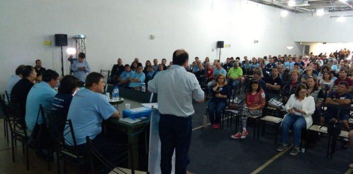 Banrisulenses se unificam para defender o Banrisul da venda de ações em assembleia nacional