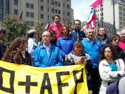 Colegas do GAS vão ao Chile conhecer a tragédia que as reformas da Ditadura Pinochet deixaram para os aposentados de agora e para mobilizar resistência