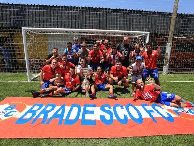Bradesco FC vence Santander na final e fica com o título da Taça SindBancários de Futebol Sete 2017