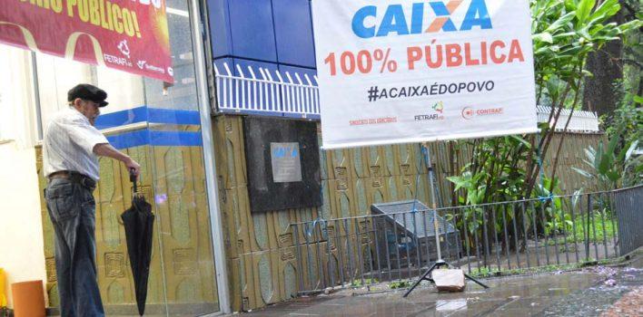 Caixa é impedida na Justiça de pressionar empregados para que saiam de ações coletivas contra ilegalidades da direção do banco
