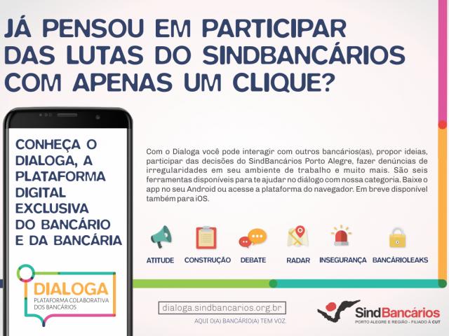 Conheça o Dialoga: A nova plataforma colaborativa do SindBancá...
