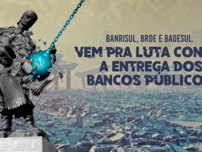 SindBancários lança campanha de TV, rádio e redes sociais em defesa dos bancos públicos e de alerta à ruína do RS