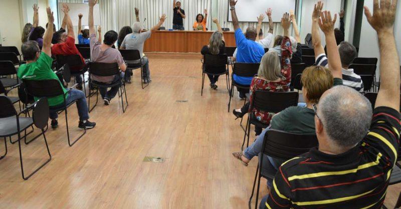 Bancários decidem em assembleia unânime declarar estado de greve contra a votação da Reforma da Previdência