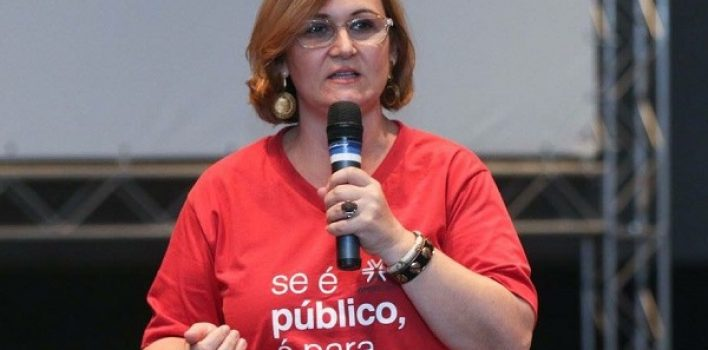 Rita Serrano diz em nota de repúdio que 'Caixa não pode ser usada para chantagem'