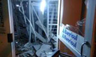 Três bancos são atacados no Rio Grande Sul na madrugada desta quarta