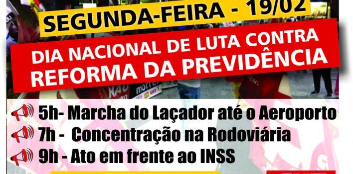 CUT-RS e centrais realizam plenária nesta sexta, 16/2, para fortalecer Dia Nacional de Luta contra Reforma da Previdência