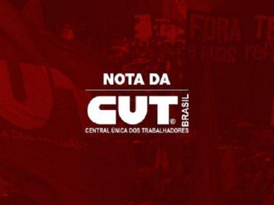 Intervenção no Rio de Janeiro é mais um vexame de Temer, aponta nota da CUT