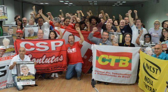 Plenária das Centrais sindicais define mobilização permanente contra ...