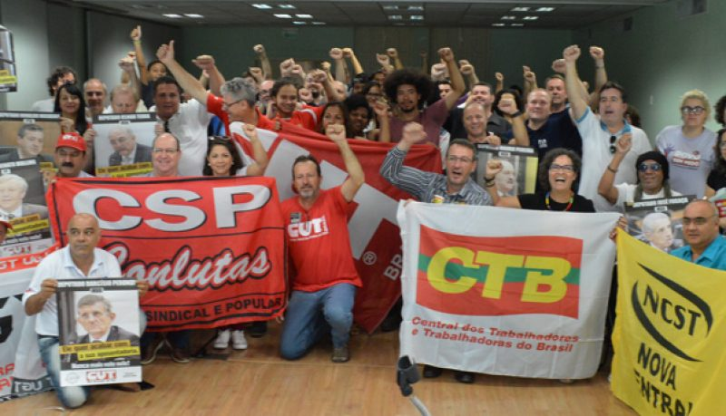 Plenária das Centrais sindicais define mobilização permanente contra Reforma da Previdência a partir da segunda, 19/2