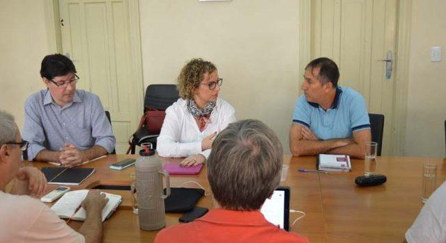 Diretoria do Santander vem ao SindBancários para debater homologaçõ...