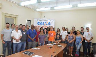 SindBancários apoia Chapa do Participante na eleição da Funcef e recebe visita de candidato