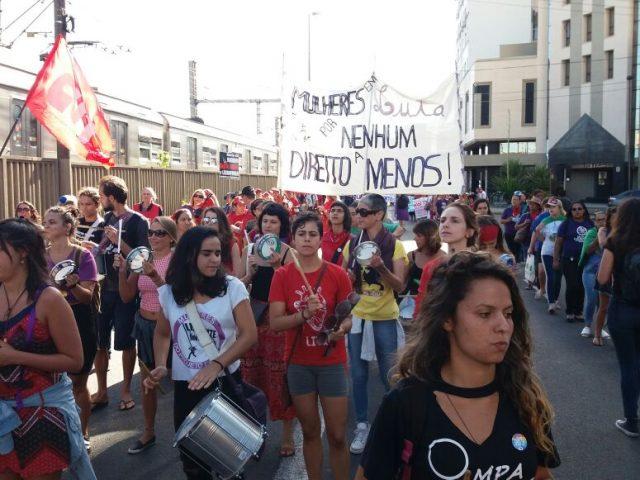 Bancárias participam de Lançamento da Marcha das Margaridas 2019