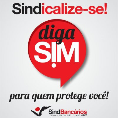 Sindicato lança campanha de sindicalização para combater retrocessos e reafirmar sua importância. Diga S!M a quem te protege!