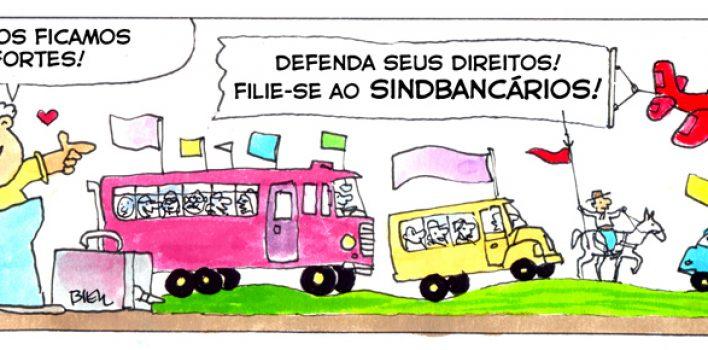 SindBancários não vai solicitar Contribuição Sindical em 2018 e anuncia lançamento de campanha de sindicalização